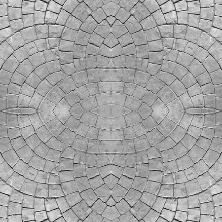 Línea de lotes perfecta en suelo de piedra para fondo abstracto