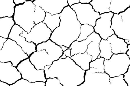 crack ground for abstract background Imagens - 125390627