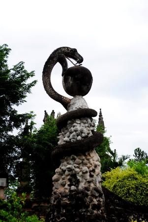egyptian cobra: Serpente