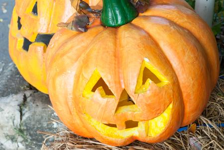 carving pumpkin: Pumpkin Carving Symbols of Halloween.