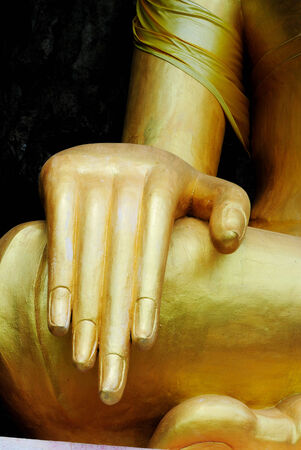 gautama: Gautama is the primary figure in Buddhism, and accounts of his life. Stock Photo