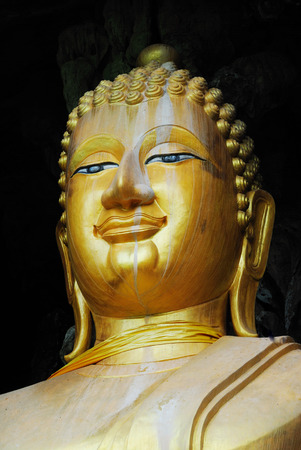 gautama: Gautama is the primary figure in Buddhism, and accounts of his life. Stock Photo