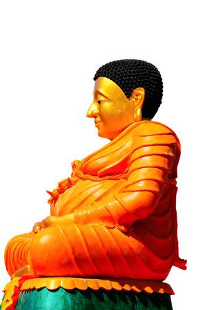 awakened: The word Buddha means awakened one or the enlightened one. Stock Photo