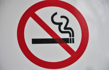 nicotine: No smoking