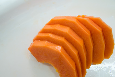 cutaneous: tasty papaya Stock Photo