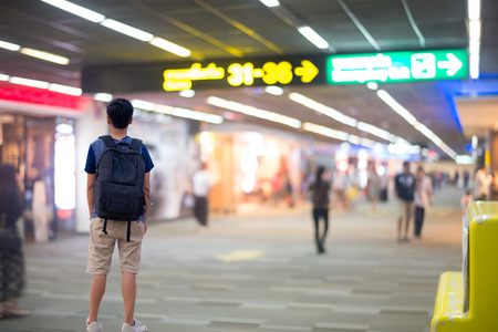 thai people: Thai people backpack