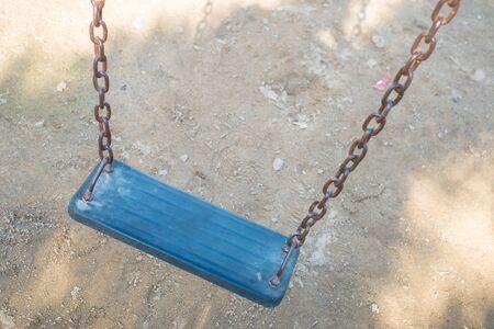 doleful: swing in dark