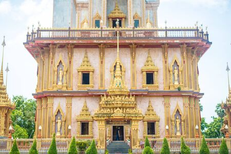 chalong: Wat Chalong,Luang Pho Chaem,Thailand, Travel and tourism in Phuket.
