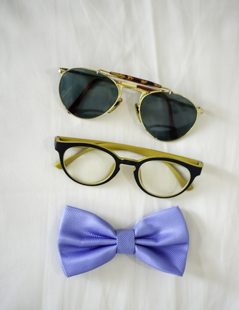 wayfarer: Glasses Stock Photo