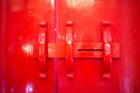 red door: red door Stock Photo