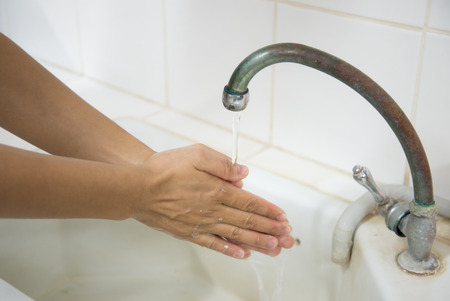 sudsy: Global Handwashing Day (GHD) is a campaign to motivate and mobilize people around the world to improve their handwashing habits by washing their hands with soap at critical moments throughout each day. It takes place on October 15 of each year.systematic  Stock Photo