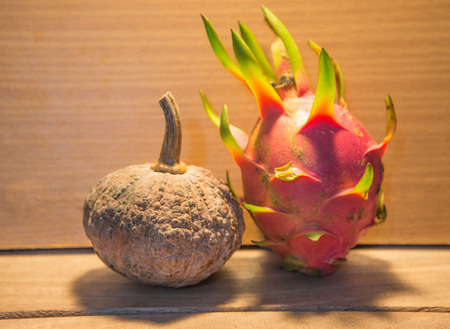 priceless: Pumpkins  and dragon fruit