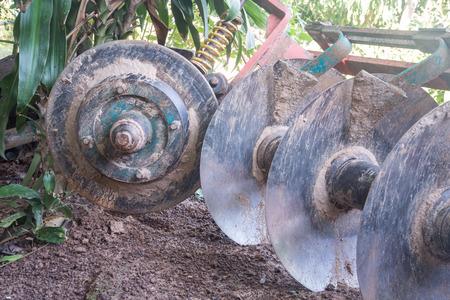 the equipment: tractor equipment