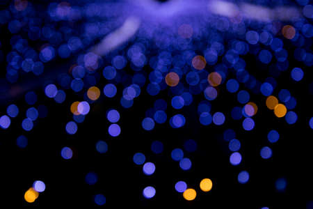 business focus: abstract background bokeh circles for Christmas background