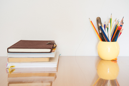 Workspace of the writer concept.
