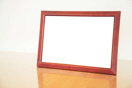 wood frame: Vintage wood frame