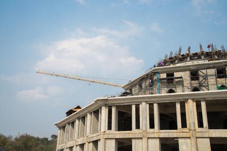 constructional: construction site . Stock Photo