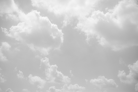 cloud background: black and white clouds and sky