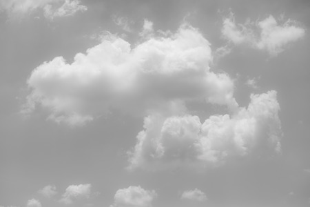 fluffy clouds: black and white clouds and sky