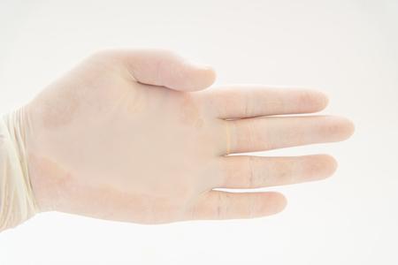 medical gloves: medical gloves Stock Photo