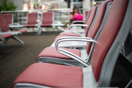 visitador medico: borrosa en silla de sala de espera
