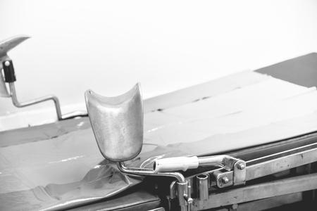 pap smear: Pelvic Exmination room
