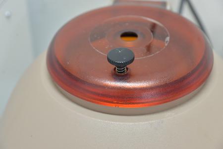 medical laboratory: laboratory centrifuge medical equipment.