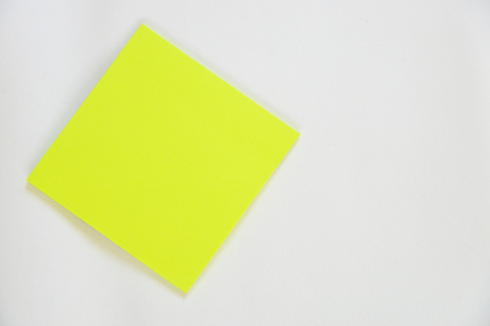 Green paper on white