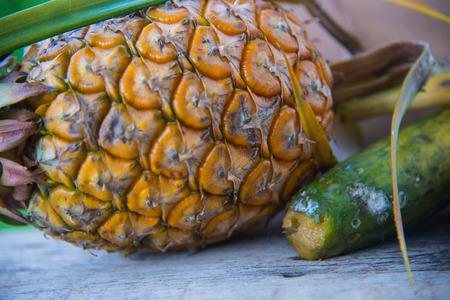 still life rotten fruit Stock Photo