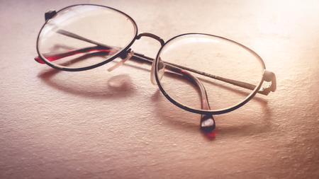 see through: eye glasses