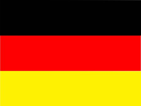 Close up Germany flag created by computer graphic.