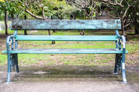 chair garden: chair garden thai Stock Photo