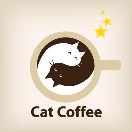 vecter: Logo coffee shop vecter.