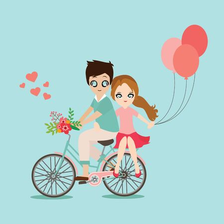sweet couple: Illustration of lovely sweet couple wedding. Illustration