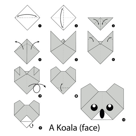Easy Origami Koala Diagram Product Wiring Diagrams