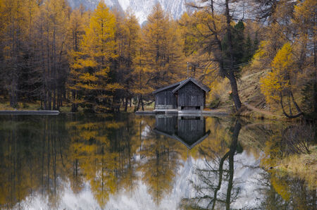 Autumn s reflection photo