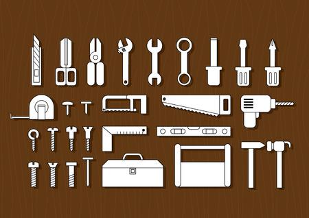 gimlet: white tool kits