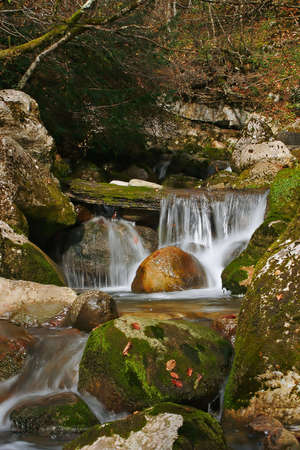Cascade in the medium of nature
