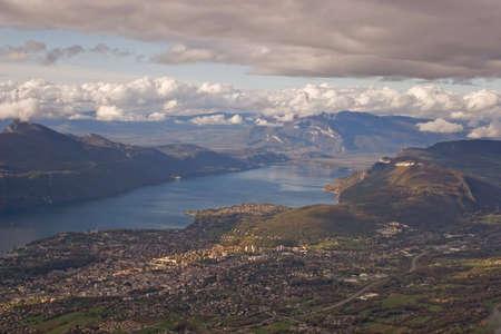 long lake: Landscape of a long lake; lake