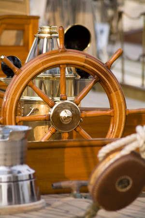 sailing boat: close up of an old sailing boat
