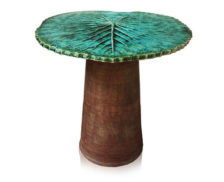 arredamento classico: La ceramica lascia sedia Archivio Fotografico