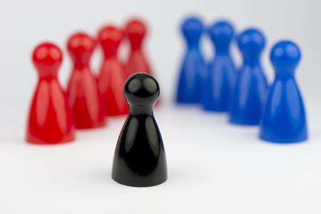 secrete: Conceptual game pawns That concept depict the different