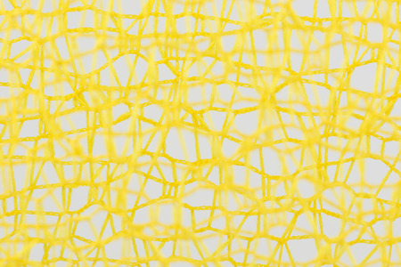 inconsistent: Tangled incoherent yellow wires as background picture