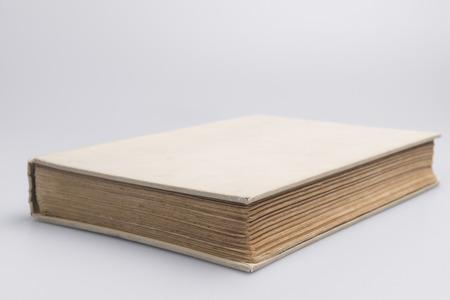 Oud antiek boek als achtergrondafbeelding