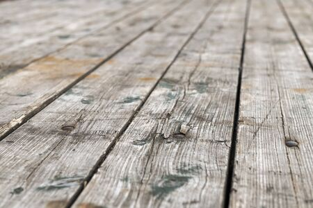 Old gray weathered boards with little depth background picture