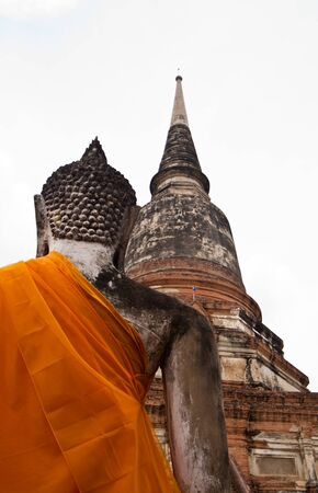 ayuthaya: Ruined Old Temple of Ayuthaya, Thailand