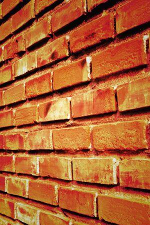 red brick wall texture photo