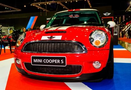 BANGKOK - JUNE 20   Mini Cooper S on display at Bangkok International Auto Salon 2013 Exciting Modified Car Show on June 20, 2013 in Bangkok, Thailand
