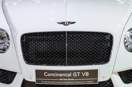 BANGKOK - MARCH 27   Bentley Continental GT V8 on display at The 35th Bangkok International Motor Show - 'Beauty in the Drive