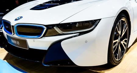 BANGKOK - MARCH 24 : BMW i8 on display at The 36th Bangkok International Motor Show